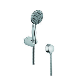 GEDY SUP1059 SUPERINOX CHROMED HAND SHOWER WITH WATER CONNECTION AND HOSE