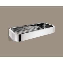 GEDY 3218-13 OUTLINE WALL MOUNTED RECTANGULAR WIRE SOAP DISH