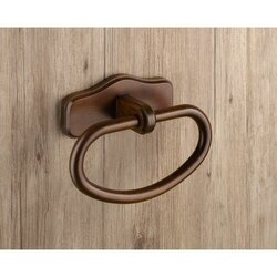 GEDY 8170-95 MONTANA CLASSIC WOOD TOWEL RING