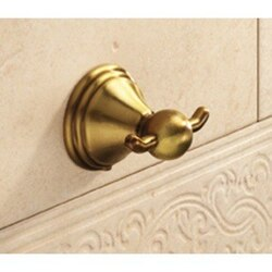 GEDY 7526-44 ROMANCE CLASSICAL BRONZE DOUBLE HOOK
