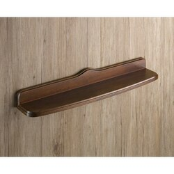 GEDY 8119-55-95 MONTANA 22 INCH OLD WALNUT WOOD BATHROOM SHELF