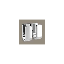 GEDY 3228-13 OUTLINE MODERN CHROME DOUBLE ROBE HOOK