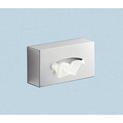GEDY 2308-13 SECTOR-RANGE RECTANGLE STAINLESS STEEL WALL TISSUE BOX HOLDER