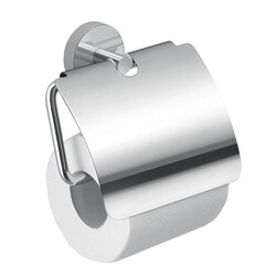 GEDY 2325-13 EROS CHROME TOILET PAPER HOLDER WITH COVER