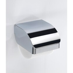 GEDY 2525-13 HOTEL CHROME STAINLESS STEEL COMMERCIAL TOILET PAPER HOLDER