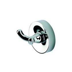GEESA 5515 LUNA COLLECTION CHROME TOWEL OR ROBE HOOK