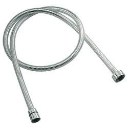 REMER 332CNBC150 SHOWER HOSES CHROME PVC 59 INCH FLEXIBLE SHOWER HOSE