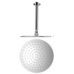 REMER 347N-US-RO300 ENZO ROUND CHROME SHOWER HEAD WITH ARM
