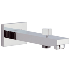 REMER 91QD QUBIKA WALL-MOUNTED TUB SPOUT WITH DIVERTER