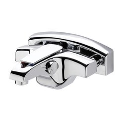 REMER A05US ATMOS EXTERNAL BATH MIXER WITH FULL COVER FLANGE IN CHROME