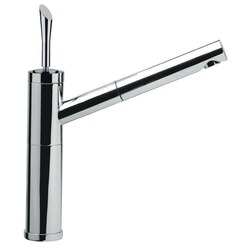 REMER J47 JAZZ ONE HOLE SINK MIXER WITH PULL-OUT SPRAY JET AND SINGLE LEVER IN CHROME