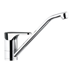 REMER L40US CLASS LINE CHROME DECK MOUNTED SINK MIXER WITH MOVABLE SPOUT