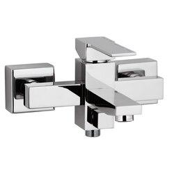 REMER Q05US QUBIKA CHROMED BRASS EXTERNAL BATH SHOWER MIXER