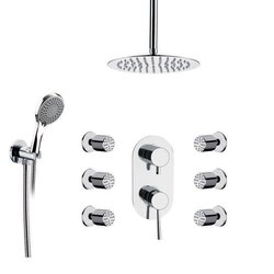 REMER R13 RANIERO SHOWER FAUCET WITH BODY SPRAY IN CHROME