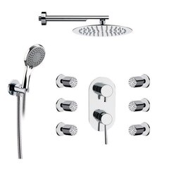REMER R18 RANIERO SHOWER FAUCET WITH BODY SPRAY IN CHROME