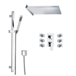 REMER S11 RANIERO SHOWER FAUCET WITH BODY SPRAY IN CHROME
