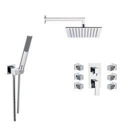 REMER S13 RANIERO SHOWER FAUCET WITH BODY SPRAY IN CHROME