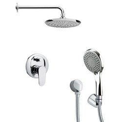 REMER SFH6163 ORSINO MODERN SHOWER FAUCET SET WITH HAND SHOWER IN CHROME