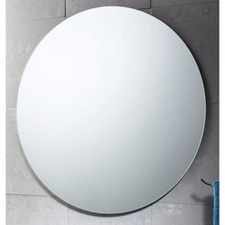 GEDY 2520-13 PLANET 26 X 26 INCH ROUND POLISHED EDGE VANITY MIRROR