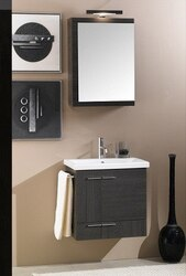 IOTTI NS4 SIMPLE COLLECTION 22.5 INCH VANITY SET WITH MEDICINE CABINET