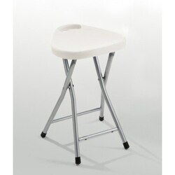 GEDY CO75 SOLISIA CHROME BATHROOM STOOL WITH ASSORTED COLOR SEAT