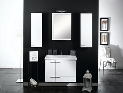 IOTTI NS9 SIMPLE COLLECTION 30.4 INCH WALL MOUNTED VANITY SET