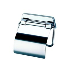 GEESA 5144 STANDARD HOTELD STAINLESS STEEL TOILET ROLL HOLDER WITH COVER