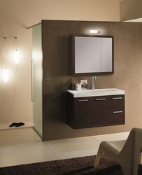 IOTTI LE1 LINEAR COLLECTION 38.3 INCH VANITY SET WITH MEDICINE CABINET