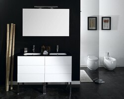 IOTTI NT1 TIME COLLECTION 47.2 INCH DOUBLE VANITY SET
