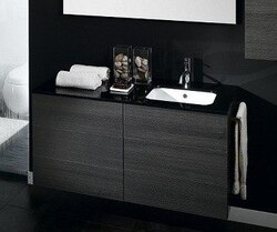 IOTTI NR2 TIME COLLECTION 47.2 INCH W DOUBLE VANITY WITH RIGHT SINK INSTALLATION