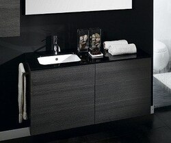 IOTTI NR21 TIME COLLECTION 47.2 INCH W DOUBLE VANITY WITH LEFT SINK INSTALLATION