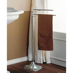 TOSCANALUCE 657 QUEEN 38 INCH FREE STANDING CLASSIC-STYLE TOWEL STAND