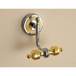 TOSCANALUCE 6504 QUEEN CLASSIC-STYLE DOUBLE ROBE OR TOWEL HOOK