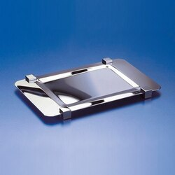 WINDISCH 51217 TRAYS RECTANGLE METAL BATHROOM TRAY MADE IN BRASS
