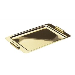 WINDISCH 51228 TRAYS RECTANGLE METAL BATHROOM TRAY MADE IN BRASS