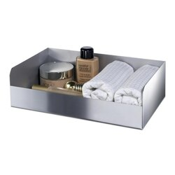 WINDISCH 51300 COMPLEMENTS RECTANGLE BRASS ACCESSORIES TRAY WITH