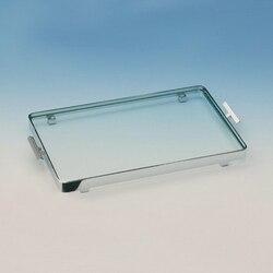 WINDISCH 51420 TRAYS RECTANGULAR CLEAR CRYSTAL GLASS BATHROOM TRAY