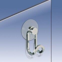 WINDISCH 85044 METAL ACCESSORIES SHOWER DOOR HOOK