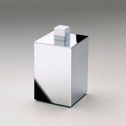 WINDISCH 88413 BOX METAL SQUARE METAL COTTON SWAB JAR