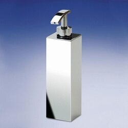 WINDISCH 90102 BOX METAL LINEAL TALL SQUARED BATHROOM SOAP DISPENSER