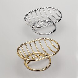WINDISCH 92122 EVERYDAY OVAL COUNTERTOP WIRE SOAP DISH