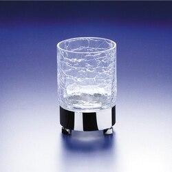 WINDISCH 94118 ADDITION CRACKLED ROUND CRACKLED CRYSTAL GLASS TUMBLER