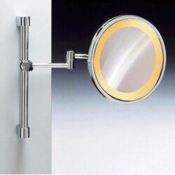 WINDISCH 99159 INCANDESCENT MIRRORS WALL MOUNTED ROUND LIGHTED MAGNIFYING MIRROR