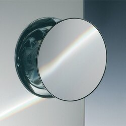 WINDISCH 99303 SUCTION PAD ONE FACE CHROME MAGNIFYING MIRROR