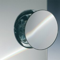 WINDISCH 99304 SUCTION PAD ONE FACE CHROME MAGNIFYING MIRROR