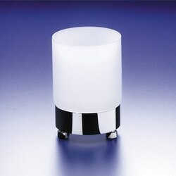 WINDISCH 94118M ADDITION FROZEN ROUND FROSTED CRYSTAL GLASS TUMBLER