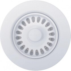 BLANCO 441091 DECORATIVE BASKET STRAINER IN WHITE