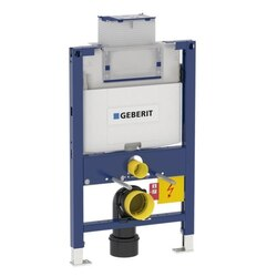 GEBERIT 111.012.00.1 DUOFIX CARRIER FOR WALL-HUNG TOILET IN PRE-WALL 2 X 6 CONSTRUCTION, 1.6 / 0.8 GPF (6 / 3 LPF)