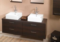 IOTTI 2XAN07/AN08/AN09 AURORA COLLECTION W. 60.8 INCH COMBINED VANITIES