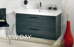 IOTTI WC055 NEW DAY COLLECTION W. 38.8 INCH VANITY WITH SINK